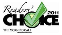 The Morning Call 2011 Reader's Choice Logo - Doggy Day Care in Allentown, PA